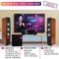 Dàn nghe nhạc 2 kênh Stereo BC-NN08 (Jamo C97 II +Yamaha R N803+Jamo J12)