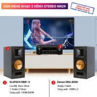 Dàn nghe nhạc 2 kênh Stereo NN29
