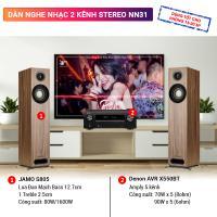 Dàn nghe nhạc 2 kênh Stereo NN31