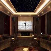 Thiết kế phòng chiếu phim gia đình tại Vinhome