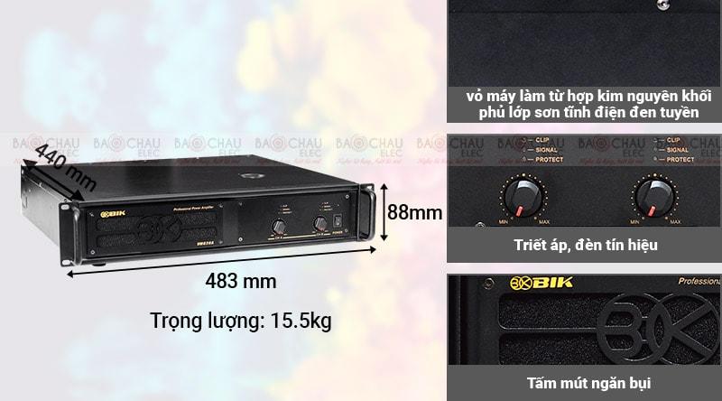 Cục đẩy công suất BIK VM 620A