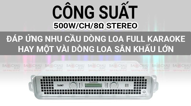 Cục đẩy SAE Duo500
