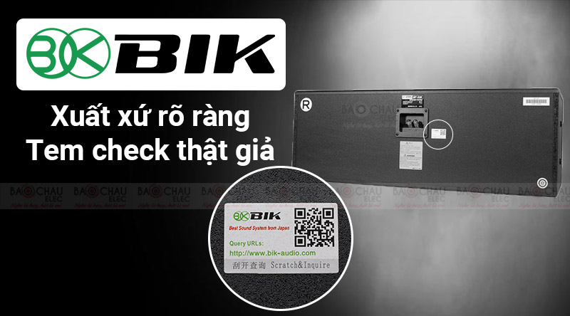 Loa BIK BP S35