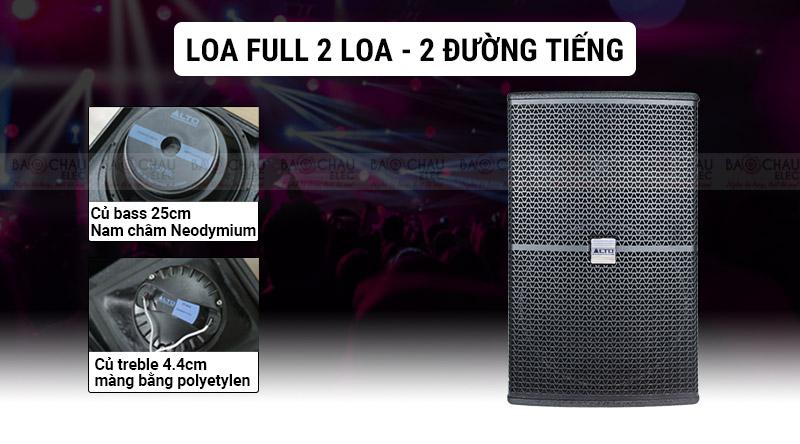 Loa karaoke Alto AK110