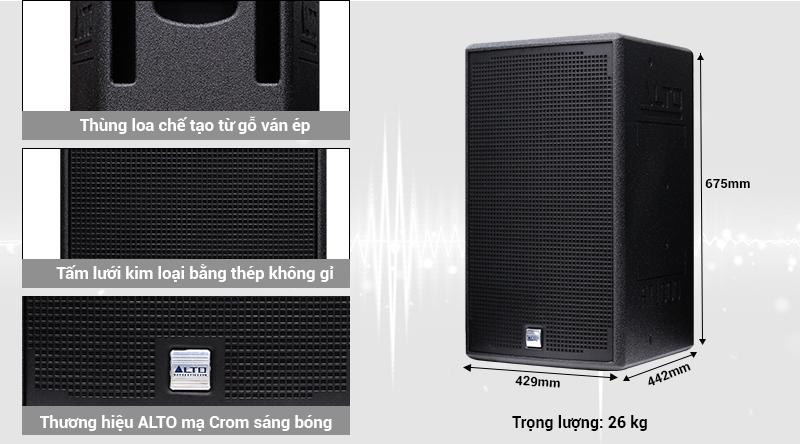 Loa karaoke Alto AT3000