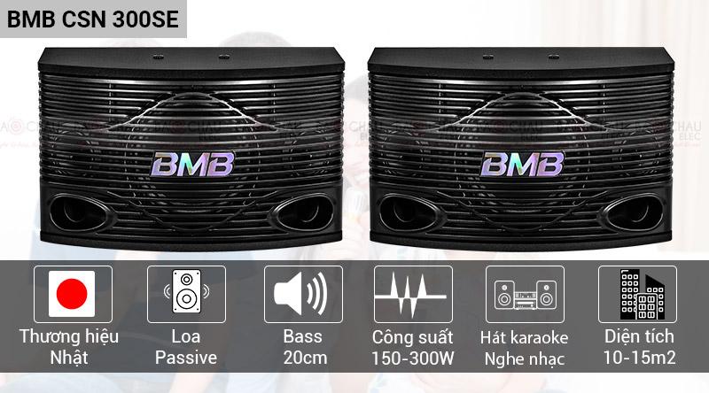 Loa karaoke BMB CSN 300SE chính hãng, giá tốt