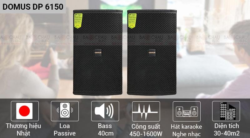 loa Domus DP6150 chính hãng, giá tốt