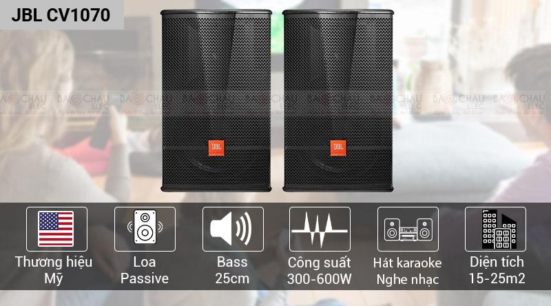 Loa karaoke JBL CV1070