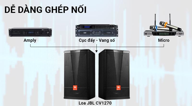 Loa karaoke JBL CV1270
