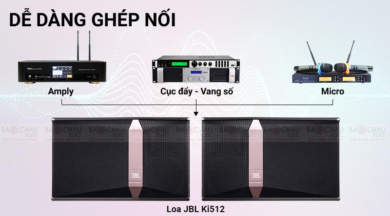 Loa karaoke JBL Ki512