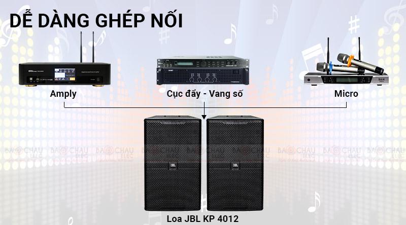 Loa karaoke JBL KP4012
