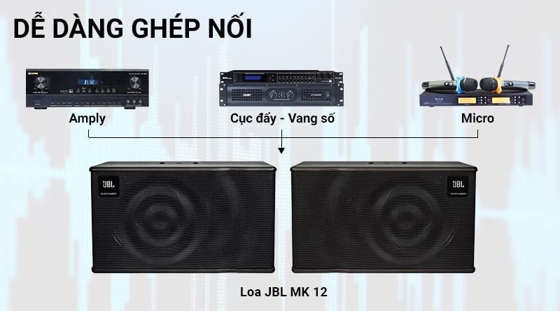 Loa karaoke JBL MK12 Ba Sao