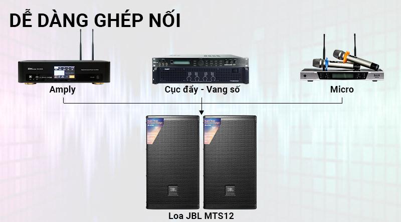 Loa karaoke JBL MTS12