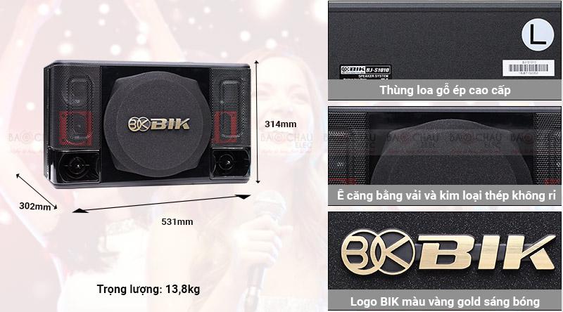 Loa karaoke Nhật BIK BJ S1010