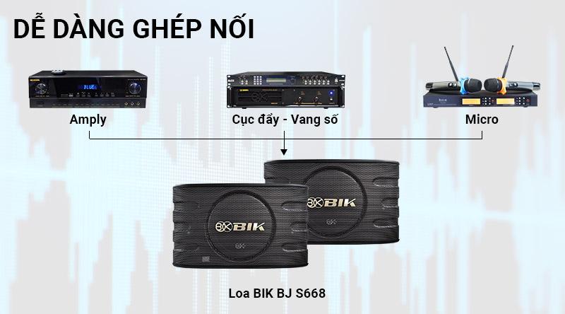 Loa karaoke Nhật BIK BJ S668
