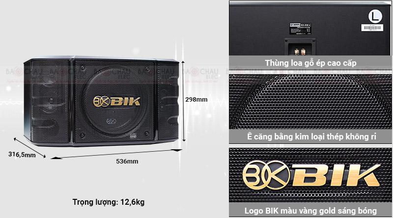 Loa karaoke Nhật BIK BS 998X