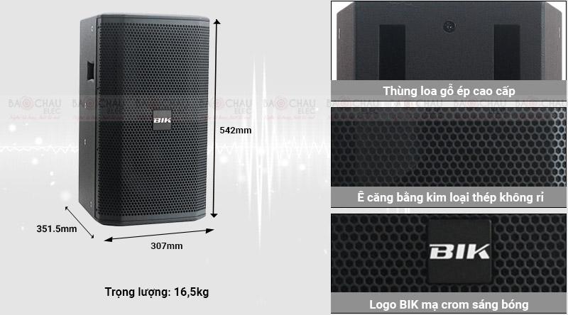 Loa karaoke Nhật BIK BSP 410