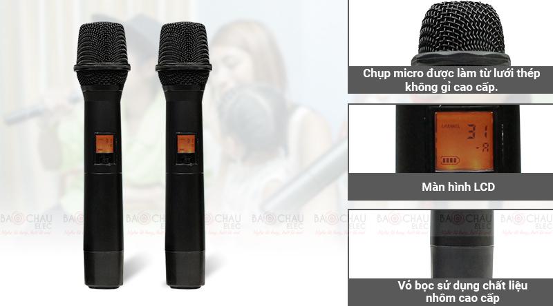 Micro không dây Relacart EU-900
