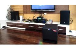 Dàn karaoke cao cấp của gia đình anh Hải ở quận 12 (RCF Emax 3110, Alto TX212, VM620A, BCE DP9200+, UGX12)