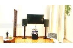 Dàn karaoke cao cấp của gia đình chị Thu ở Quận 12 (Emax 3112, Alto TS312, Famousound 7208, K9800, BCE VIP3000, Plus 4TB)