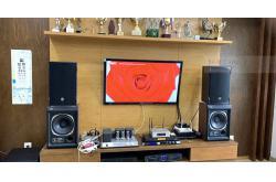 Dàn karaoke gia đình anh Hải ở Láng Hạ (Emax 3110, SPL-100, Xli1500, KX180, UGX12 Plus, S500 4TB)