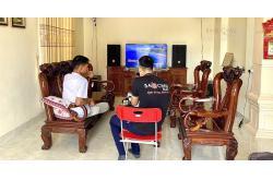 Dàn karaoke gia đình anh Nghi ở Hải Phòng (JBL CV1270, BIK VM620A, DSP-9000, U900 PlusX)