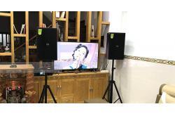 Dàn karaoke gia đình anh Tuân ở Biên Hòa, Đồng Nai (Domus DP6120, BKsound DKA 8500)