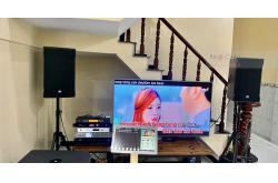 Dàn karaoke VIP gia đình chị Giang ở Bình Dương (Cmax 4112,JBL PRX418S, VM840A, AAP K9800, BCE VIP3000, PLus 4TB, 22 inch)