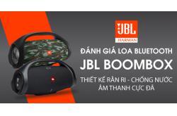 Đánh giá Loa bluetooth JBL BoomBox: Thiết kế rằn ri, chống nước, âm thanh cực đã