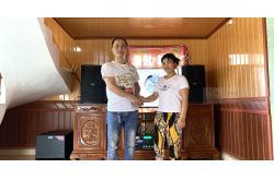 Lắp bộ dàn karaoke gia đình chị Nữ ở Hải Phòng (BIK BSP 412, Alto TX212, SAE TX800Q, DSP-9000, BCE UGX12)