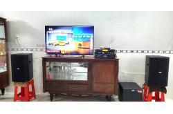 Lắp dàn karaoke cho gia đình anh Nam ở Đồng Tháp (BIK BSP 412, Alto TX212, Crown KVS700, JBL KX180, UGX12 Plus)