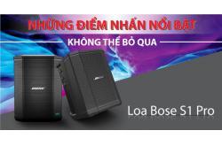 Những điểm nhấn nổi bật không thể bỏ qua của Loa Bose S1 Pro