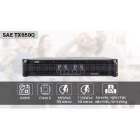 Cục đẩy công suất SAE TX650Q (4 kênh - Vua karaoke)