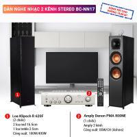 Dàn nghe nhạc 2 kênh Stereo BC-NN17
