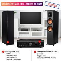 Dàn nghe nhạc 2 kênh Stereo BC-NN19