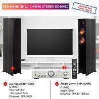 Dàn nghe nhạc 2 kênh Stereo BC-NN20