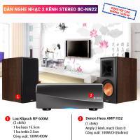 Dàn nghe nhạc 2 kênh Stereo BC-NN22