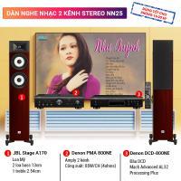Dàn nghe nhạc 2 kênh Stereo BC-NN25 (JBL Stage A170 + PMA 800NE +DCD 800NE)