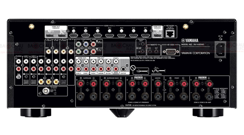 Amply Yamaha RX A2080