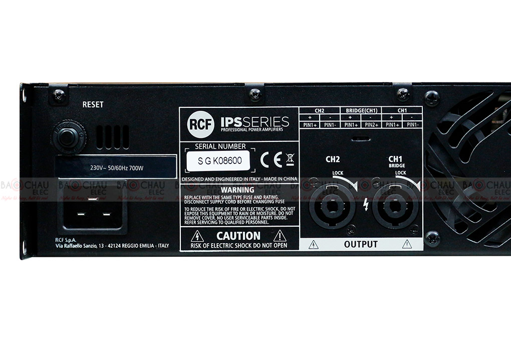 Cục đẩy công suất RCF IPS 2700