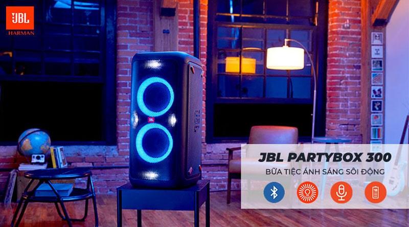 Loa JBL PartyBox 300 chính hãng, giá tốt