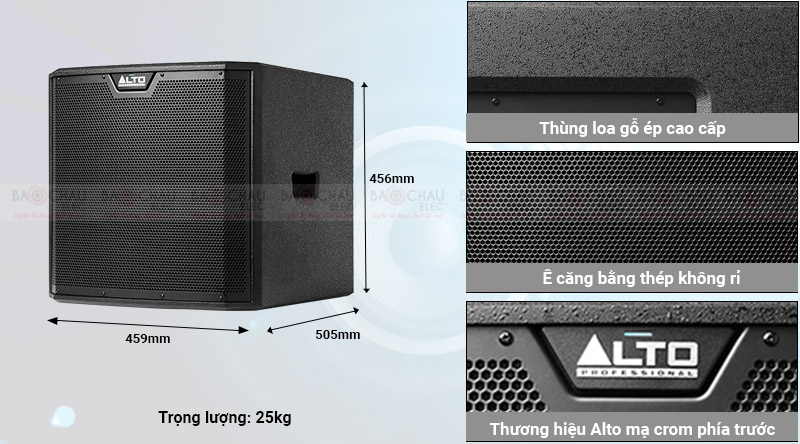 Loa Sub điện Alto TS312S