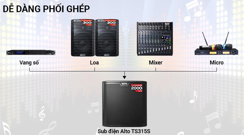 Loa Sub điện Alto TS315S