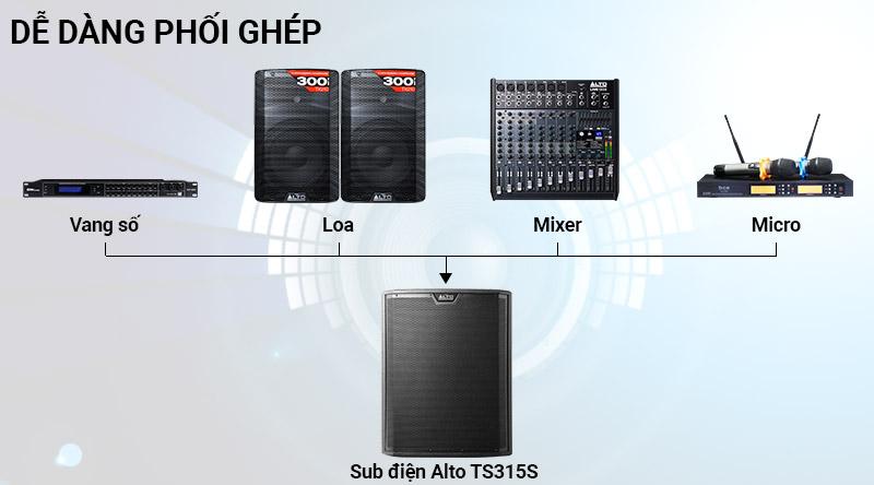 Loa Sub điện Alto TS318S