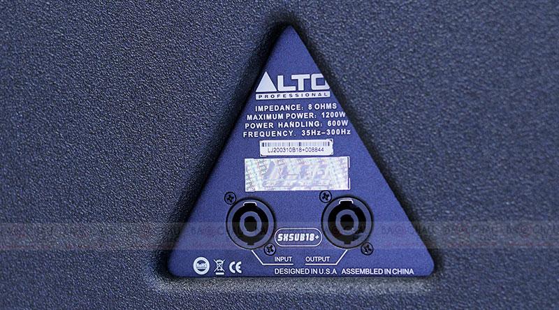 Loa Sub hơi Alto SX-SUB18+