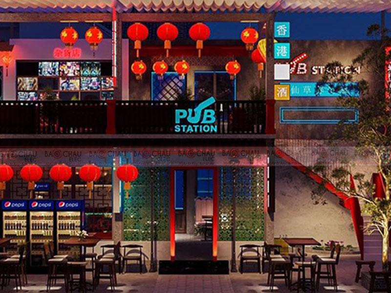 Phong cách thiết kế quán Pub, Bar