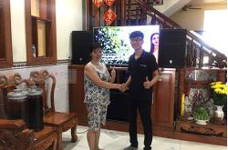 Dàn karaoke cao cấp gia đình chị Nga ở Biên Hòa (PRX 415M, SPL150, Xli3500, AAP K9800, JBL VM300)