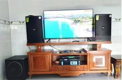 Dàn karaoke gia đình anh Hùng ở Bình Dương (Domus DP6120, Paramax 1000 New, Famous 3206, DSP-9000, U900 Plus X)