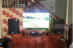 Dàn karaoke gia đình anh Trường ở Thái Bình (Alto AT2000, BW 604Gs, BIK VM620A, X5 Plus, U900 Plus X)