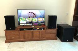 Dàn karaoke gia đình anh Tuấn ở Phú Xuyên, Hà Nội (Emax 3112, Alto SX18+, SAE TX800Q, JBL KX180, UGX12 Gold)